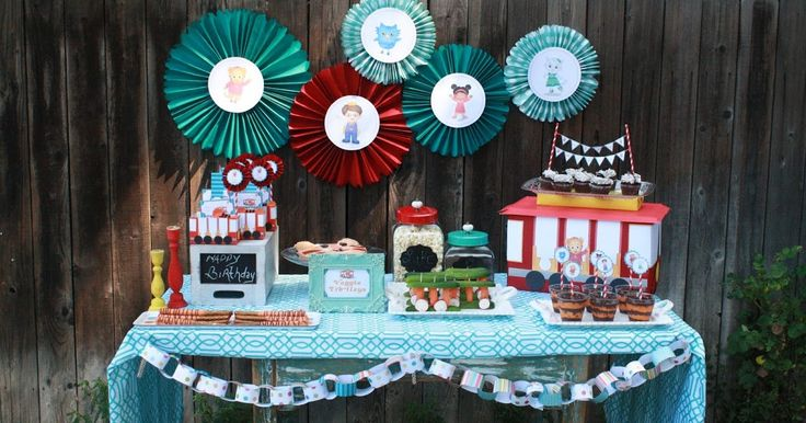 So happy and excited over here with the debut of our new 'Birthday Parties' series over at PBS Parents.  We kicked things off with a 'Daniel...
