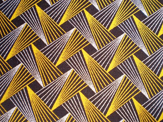 ShweShwe fabric. sort of retro. sketchy. pattern.