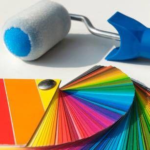 Wandfarben - Farbsorten