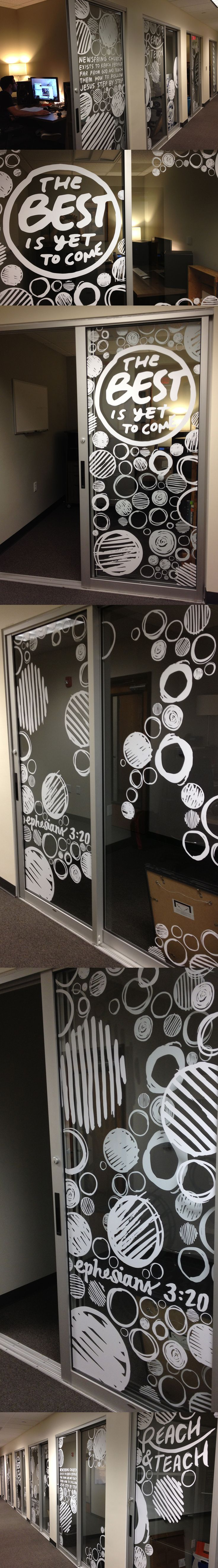 Office Window Clings : Best images about office window graphics on pinterest