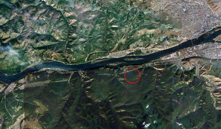 Yenisei River near Afontova Gora