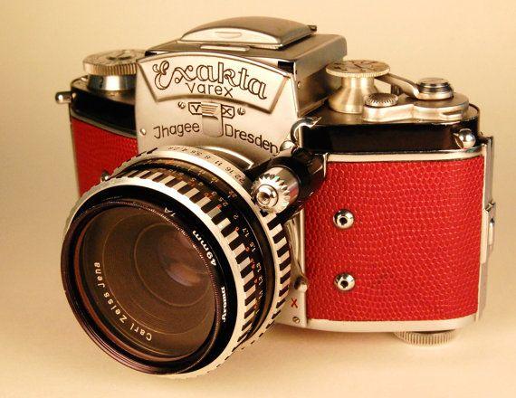 Ihagee EXAKTA VX camera and Zeiss Tessar lens. by retrograph, $305.00