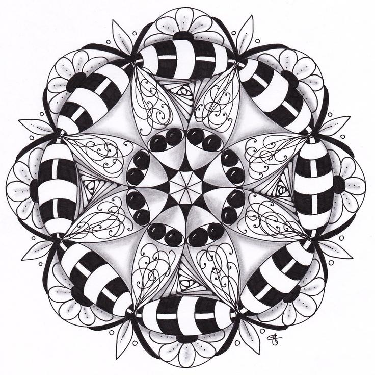 Musings: Zendala Dare #22 - Monodala
