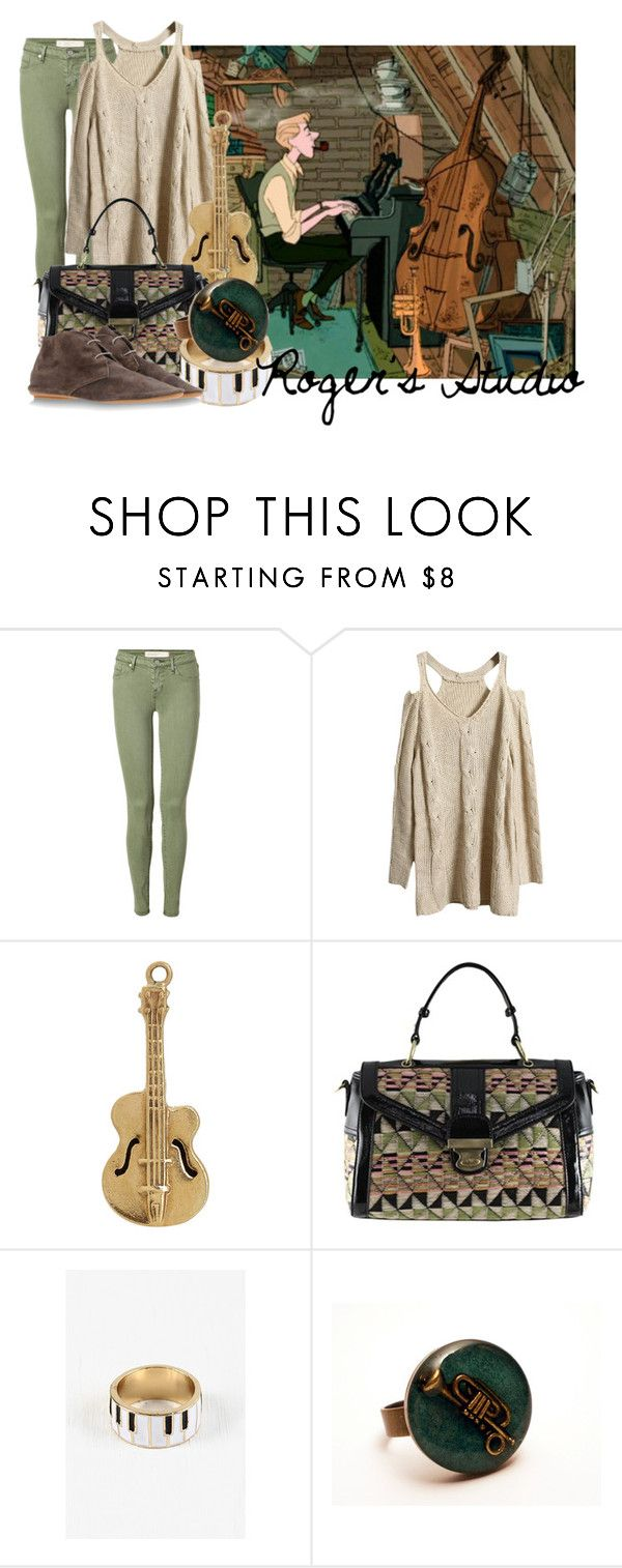 """""""Roger Radcliffe's Studio from One Hundred and One Dalmatians"""" by likeghostsinthesnow ❤ liked on Polyvore featuring Marc by Marc Jacobs, Annina Vogel, Melie Bianco and Anniel"""