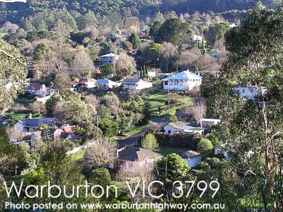 Warburton Victoria Australia. So many times I visited this place to collect bags of Wheat Bix breakfast cereal to take back to the suburbs of Melbourne to families in need.