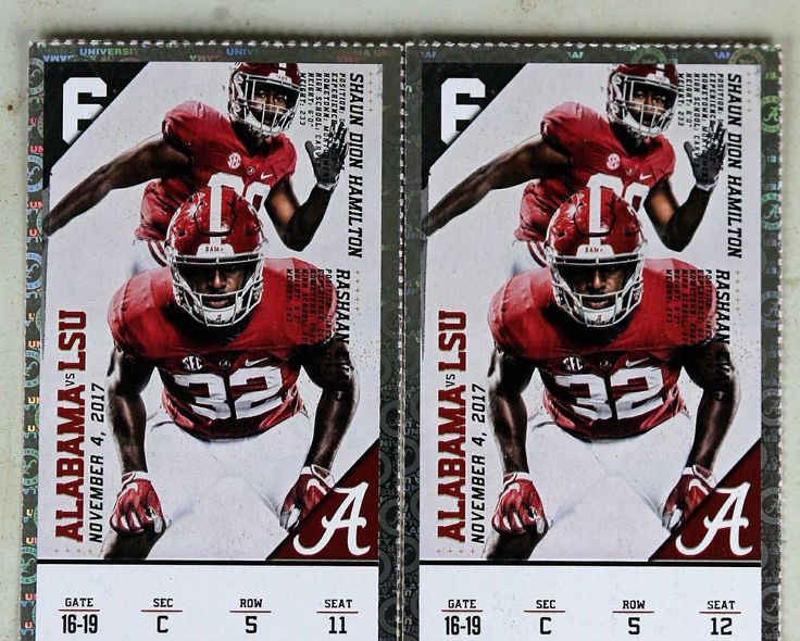 #tickets Alabama vs LSU Football Tickets please retweet