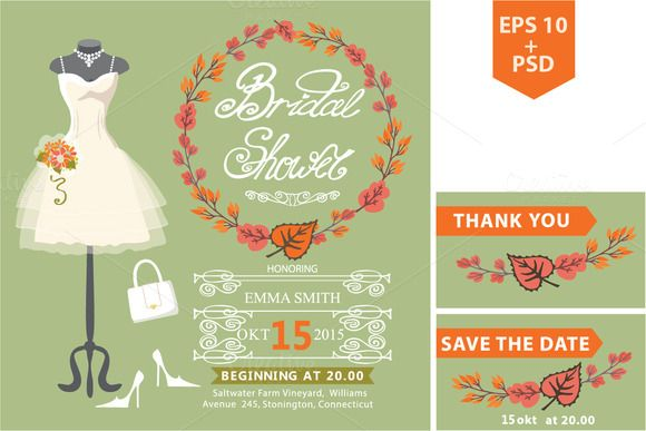 https://creativemarket.com/Tatiana_Kost/80112-Autumn-bridal-shower-template.Dress1