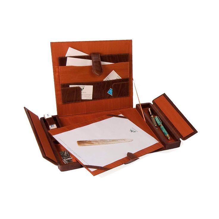 English Leather Desk Blotter Designed By Absolute Breton Pad Handmade In Ubrique With