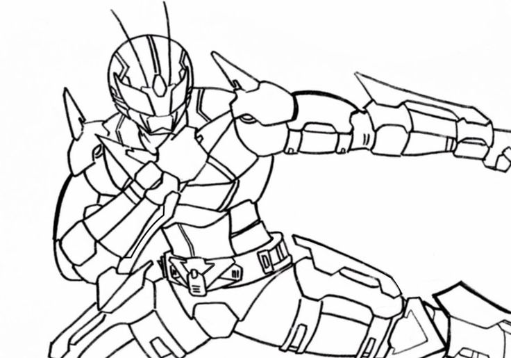 Mewarnai Gambar Kamen Rider In 2020 Kamen Rider Colorful