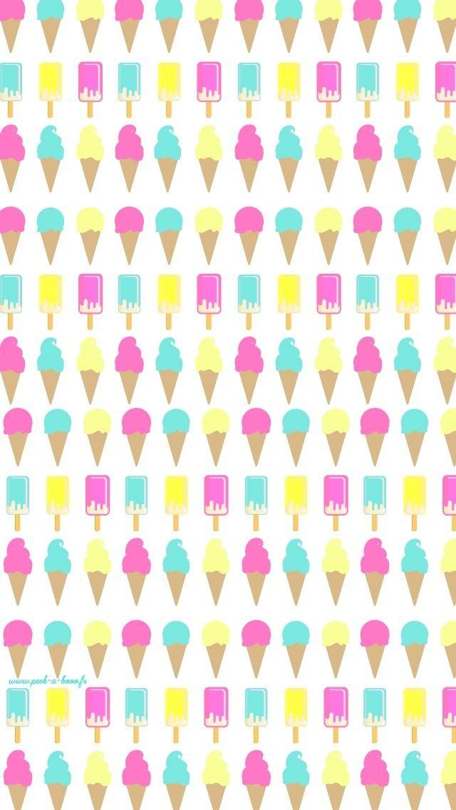 Ice Cream Wallpaper Homescreen | Jenn❥