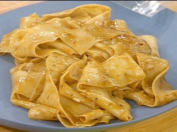 Get Rachael Ray's Chicken Marvalasala and Pappardelle with Rosemary Gravy Recipe from Food Network