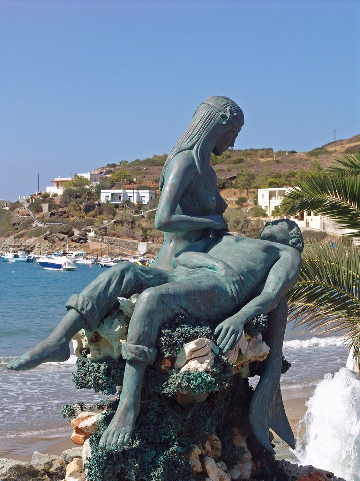 Sculpture in Syros, Greece