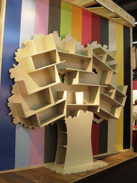 25 best ideas about bibliotheque arbre on pinterest etagere arbre tag re - Bibliotheque bois brut ...