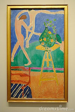 Dans door Henri Matisse Redactionele Stock Foto