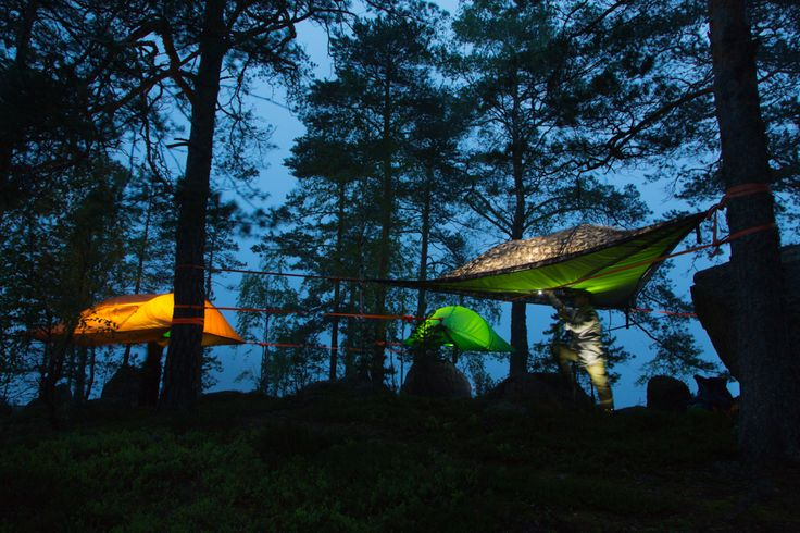 Tentsile Nature Adventure  Leave all the hustle behind you but  take all your senses with you.  A great adventure is waiting for you in Repovesi National Park. Explore the beautiful wild nature by kayaking and even sleep one night in a tree.