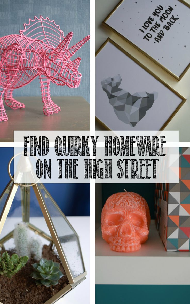 How to find quirky high street interiors and home decor, to suit your budget. Click through to see what I found this summer!