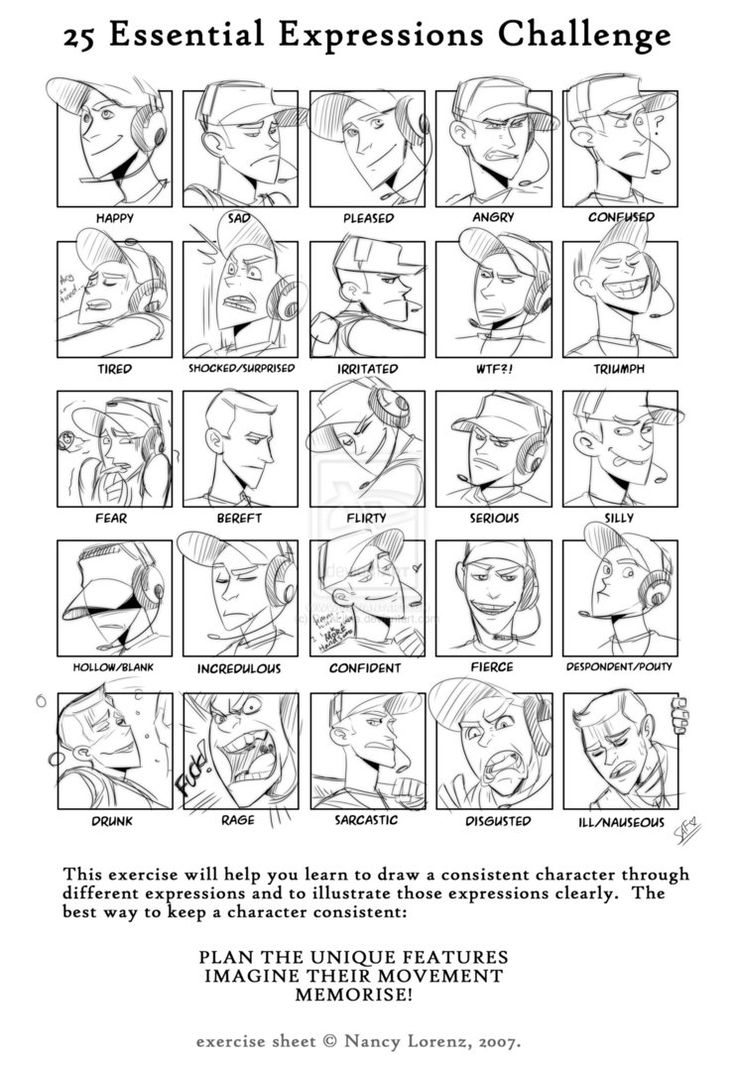 Meme:TF2: 25 Essential Expressions of Scout by DarkLitria on DeviantArt