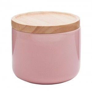 Small Soft Pink Canister