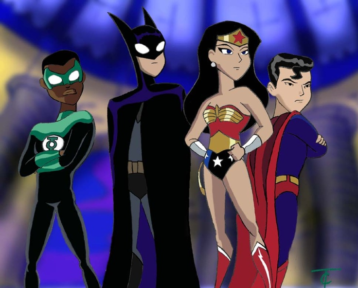 "This is possibly my favorite episode of the Justice League Unlimited. Batman says, ""What-EVER."""