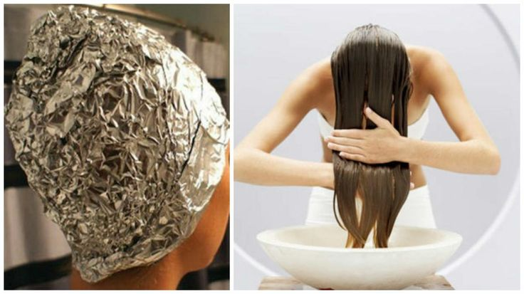 ¿Quieres un cabello brilloso y suave? ¡Entonces haz esta mascarilla y cúbrelo con aluminio! | Belleza