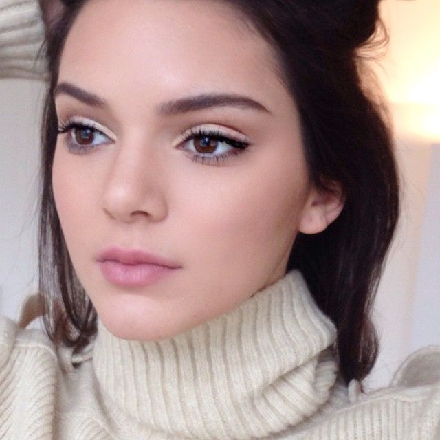 """Mario: """"They say no one is #perfect but she just is @kendalljenner #supermodel #MAKEUPbyMARIO"""""""