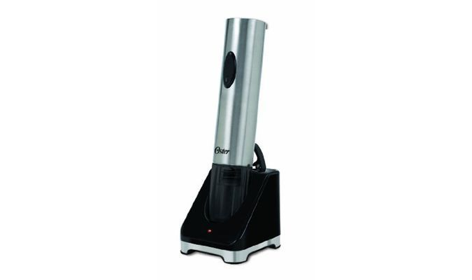 Oster Deluxe Electric Wine Opener With Wine Aerator - FPSTBW8216-KIT http://coolpile.com/home-stuff-magazine/oster-deluxe-electric-wine-opener-aerator-kit via coolpile.com  #BottleOpener #Corkscrews #Design #Gifts #Party #Rechargeable #Style #Wine #coolpile