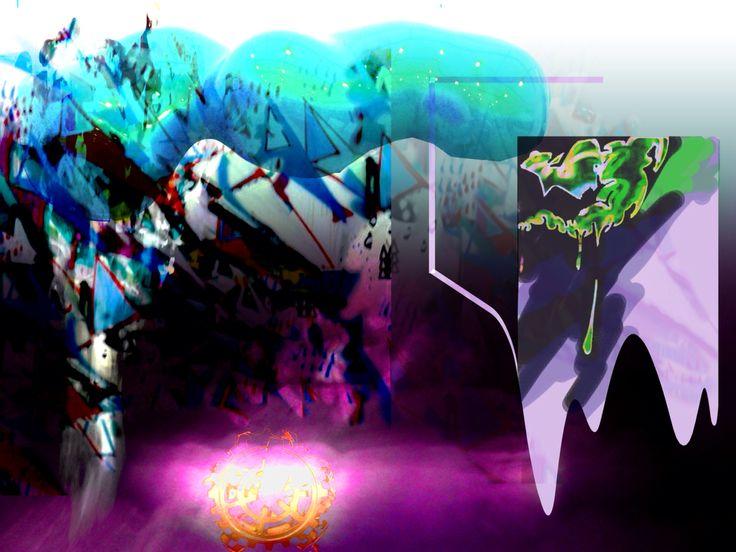 Photoshop digital abstract art
