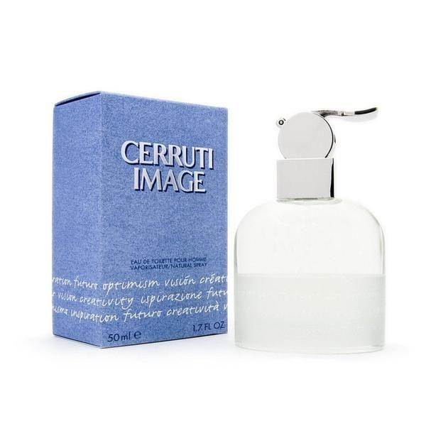 Cerruti Image Pour Homme is a fresh, fruity fragrance   The fragrance contains notes of jasmine, black pepper, bergamot, juniper berry, lemon oil, barbanacia leaf and pear william.