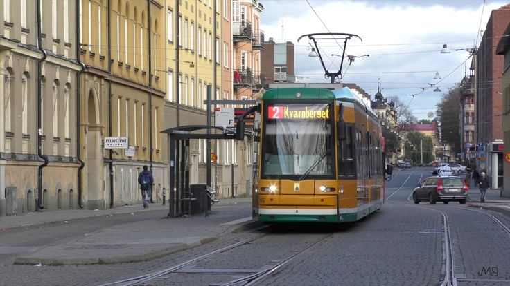 Trams in Norrköping