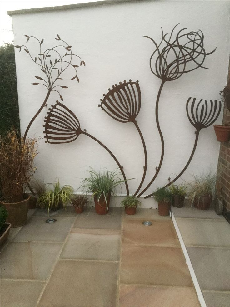 Von Angie Lewis Inspirierte Skulptur Von Alan Ross Art In Steel Von Angie Lewis Inspirierte Skulptur Garden Art Sculptures Metal Sculptures Garden Garden Art