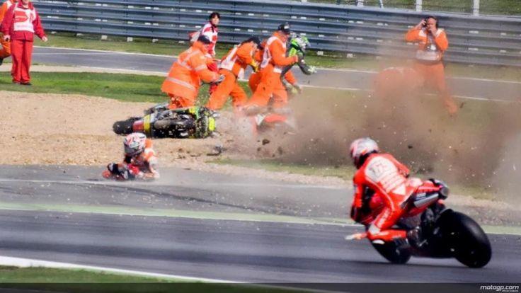 EatSleepRIDE | Marquez Broke His Winning Streak Finishing Second Despite A Weekend Crash Landing at the British MotoGP