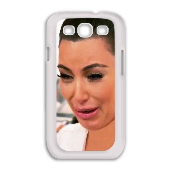 Samsung Galaxy S3  Kim Kardashian Ugly Crying Face  by BeeCase, $16.50