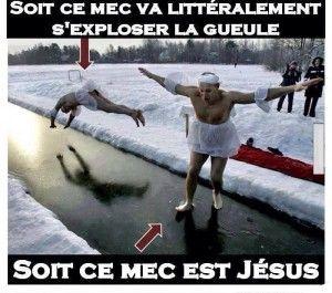 Jesus est parmi nous