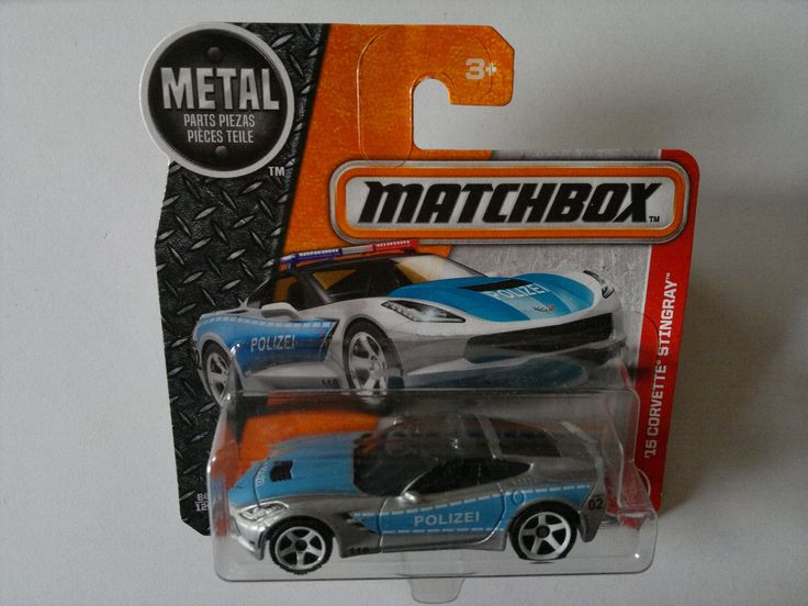 2017 - CHEVROLET Corvette ´2015 Stingray (Matchbox/MBX)