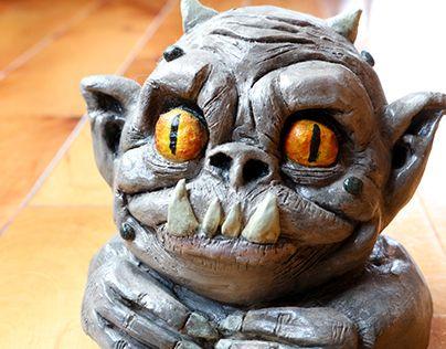"Check out new work on my @Behance portfolio: ""Sculpture en argile - Monstre"" http://be.net/gallery/60669101/Sculpture-en-argile-Monstre"