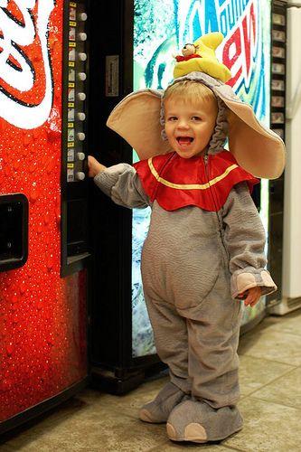 #Halloween Dumbo http://babycoupon.biz/halloween/ Cool Halloween Costumes