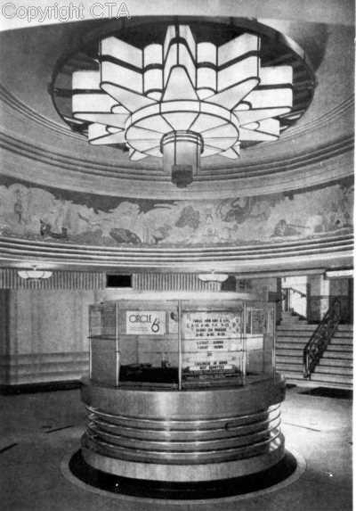 Foyer of the Lyceum, Glasgow