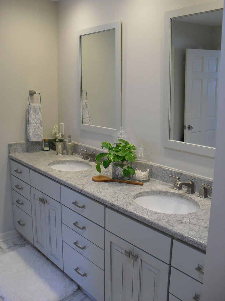 this bathroom remodel in east lansing michigan resulted in a serene space to start