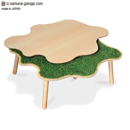 Norco(芝生こたつ ノルコ): おしゃれなデザインこたつテーブル
