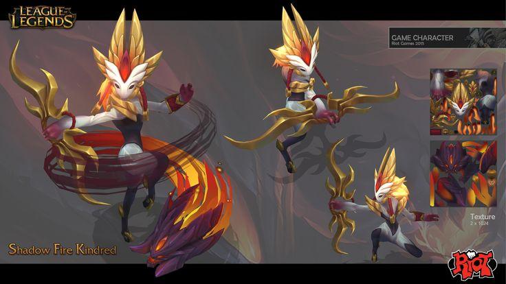 Shadow Fire Kindred, Duy Khanh Nguyen on ArtStation at https://www.artstation.com/artwork/0aPn8