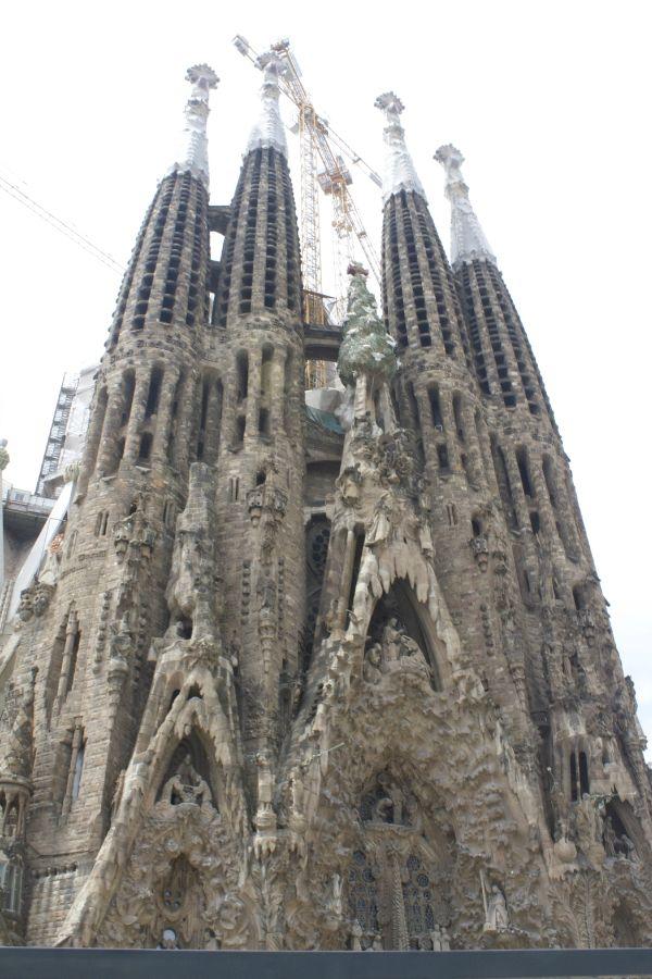 La familia segrada - goudi's final masterpiece #travel #art #Spain #Barcelona