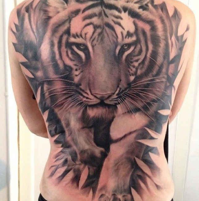 40 best tiger back tattoos images on pinterest design tattoos tattoo art and tattoo designs. Black Bedroom Furniture Sets. Home Design Ideas