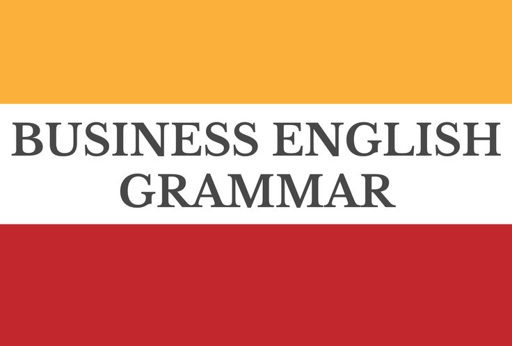 A board from Lingua Materna sharing useful grammar content for learners studying business English.