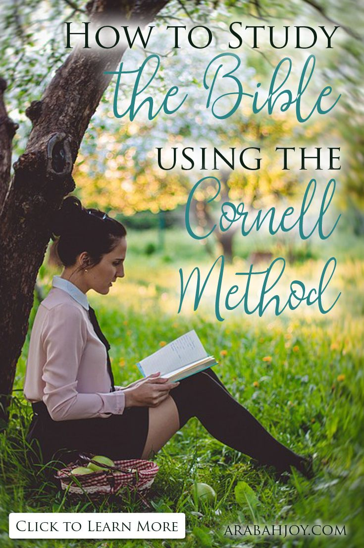 How To Study The Bible Using The Cornell Method