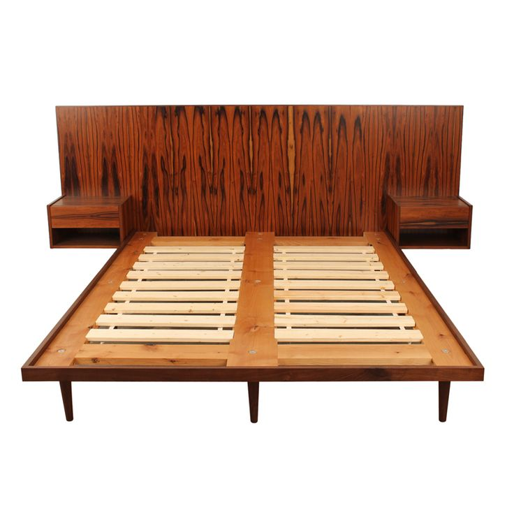 Newly Made Danish Modern Style Rosewood Bed. 16 best Modern Bed images on Pinterest   Modern beds  Bedroom