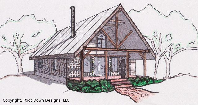 passive+solar+cordwood+homes | cordwood home april magill