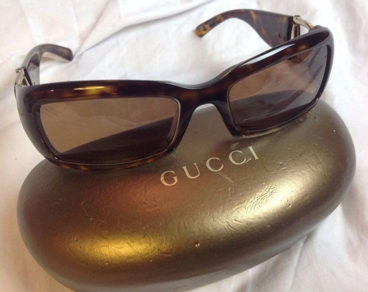 GUCCI Bi-Focal Readers Womens Brown Tortoise Designer Sunglasses GG 2943/S NICE #Gucci #Designer