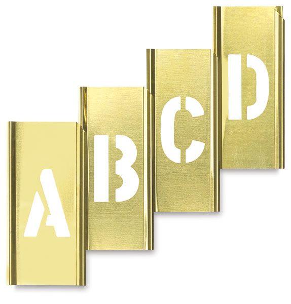 Brass Stencils, rad.