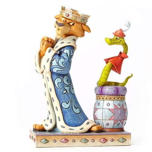 Disney Traditions Robin Hood Prince John and Sir Hiss Statue - Enesco - Robin Hood - Statues at Entertainment Earth