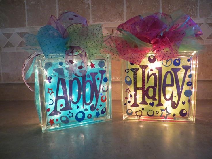 fun glass blocks